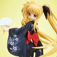 Magical Girl Lyrical Nanoha the Movie 2nd A's Fate Testarossa: Yukata Ver. 1/8 Scale Figure