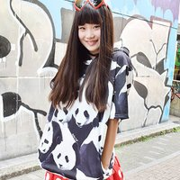 ACDC RAG Panda Short-Sleeve Hoodie