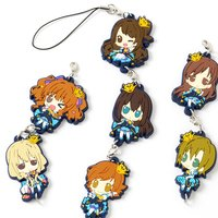 Chitcha Mate Idolmaster Cinderella Girls Connectable Rubber Straps Vol. 1