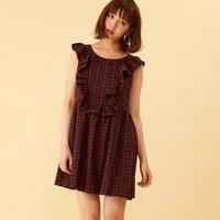 Honey Salon Mini Ruffled Dress