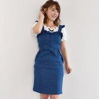 LIZ LISA Tight Ribbon Dress