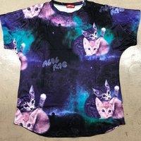 ACDC RAG Galaxy Cats T-Shirt