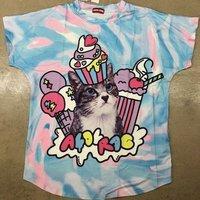 ACDC RAG Ice Cream Cat T-Shirt