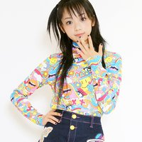galaxxxy Neo Psyche High Neck Long T-Shirt
