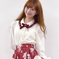LIZ LISA Heart Ribbon Blouse