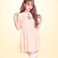 Swankiss Sleeveless Lace Dress