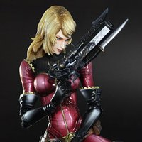 Play Arts Kai Space Pirate Captain Harlock Kei Yuki