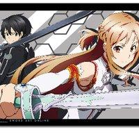 Sword Art Online Kirito & Asuna Wall Scroll