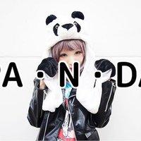 ACDC RAG Fluffy Panda Hat