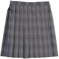 Teens Ever Gray x Navy Blue High School Uniform Skirt
