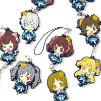 Chitcha Mate Idolmaster Cinderella Girls Connectable Rubber Straps Vol. 2