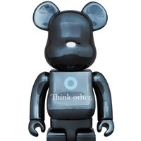 BE@RBRICK I Am Other Black Ver. 400%