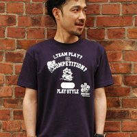 Mario Bros. Play Style T-Shirt (Navy)
