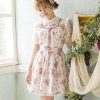 LIZ LISA Grape Rose Jumper Skirt