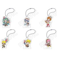 Vocaloid Meiko's Birthday Acrylic Keychain Collection