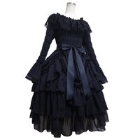 Atelier Pierrot Chiffon Bustle Dress
