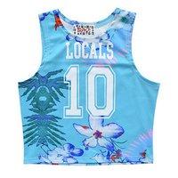 ACDC RAG Numbering Hawaiian Short Tank Top