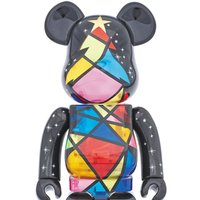 2016 Xmas BE@RBRICK 1000% Stained Glass Tree