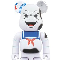 BE@RBRICK Ghostbusters Stay Puft Marshmallow Man Angry Face 400%