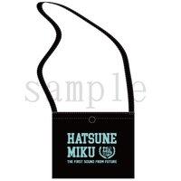 Hatsune Miku Otsukimi Party Black Sacoche Pouch