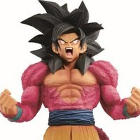 Dragon Ball GT Super Master Stars Piece: Goku Super Saiyan IV -The Brush-