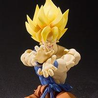 S.H.Figuarts Dragon Ball Z Super Saiyan Son Goku Super Warrior Awakening Ver.