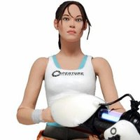 Portal 2 Chell Action Figure