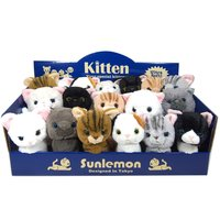 Kitten Plushie Set w/ Display Box