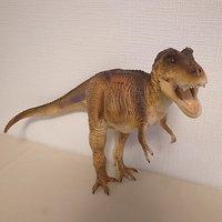 Dinotales Tyrannosaurus: Brown Color Soft Vinyl Figure