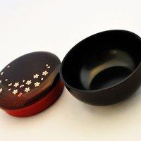 Crimson Sakura Owan Bento Box