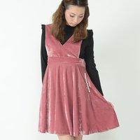 Honey Salon Velvet 2-Way Dress