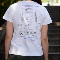 Game Boy Graphic T-Shirt (White)