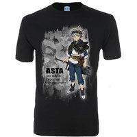 Black Clover Asta Stimulated Process Men's T-Shirt