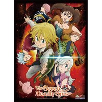 The Seven Deadly Sins - Key Art 1 High-End Wall Scroll