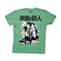 Attack on Titan Scout Group Adult T-Shirt