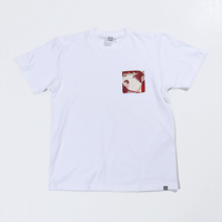 PARK Urahara Mari Character Pocket T-Shirt