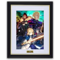 Fate/Zero Chara Fine Graph Art Print A: Blue