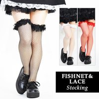 ACDC RAG Fishnet & Lace Stockings