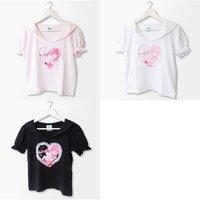 Menhera-chan x PARK Sailor Collar T-Shirt