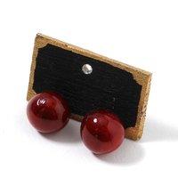 Red Berry Earrings