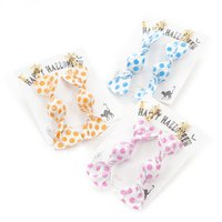 Gargle Polka Dot Candy Wrapper Earrings