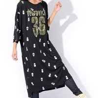 RUPIKA Stretch Jersey Maxi Dress