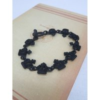 Black Crown Necklace