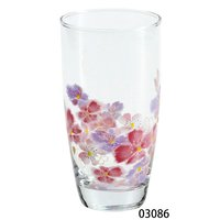 Hana Hitohira Iced Coffee Glass