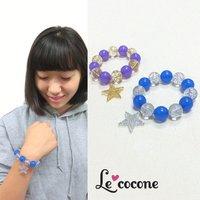Le cocone Adult Sweets Bi-Color Star Bracelet
