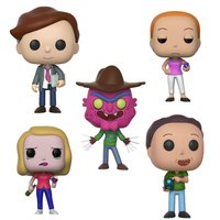 Pop! Animation: Rick & Morty Season 3: Complete Set