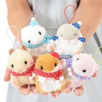Attaka Coroham Coron Hamster Plush Collection (Mini Strap)