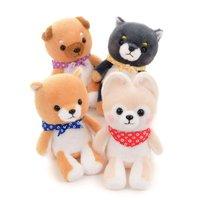 Mameshiba San Kyodai Sitting Dog Plush Collection (Standard)