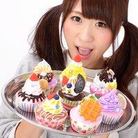 Zeitaku Sweets Deco Cupcake Big Keychain