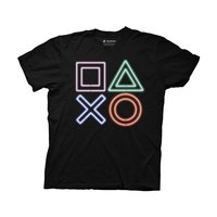 PlayStation Neon Icons T-Shirt
